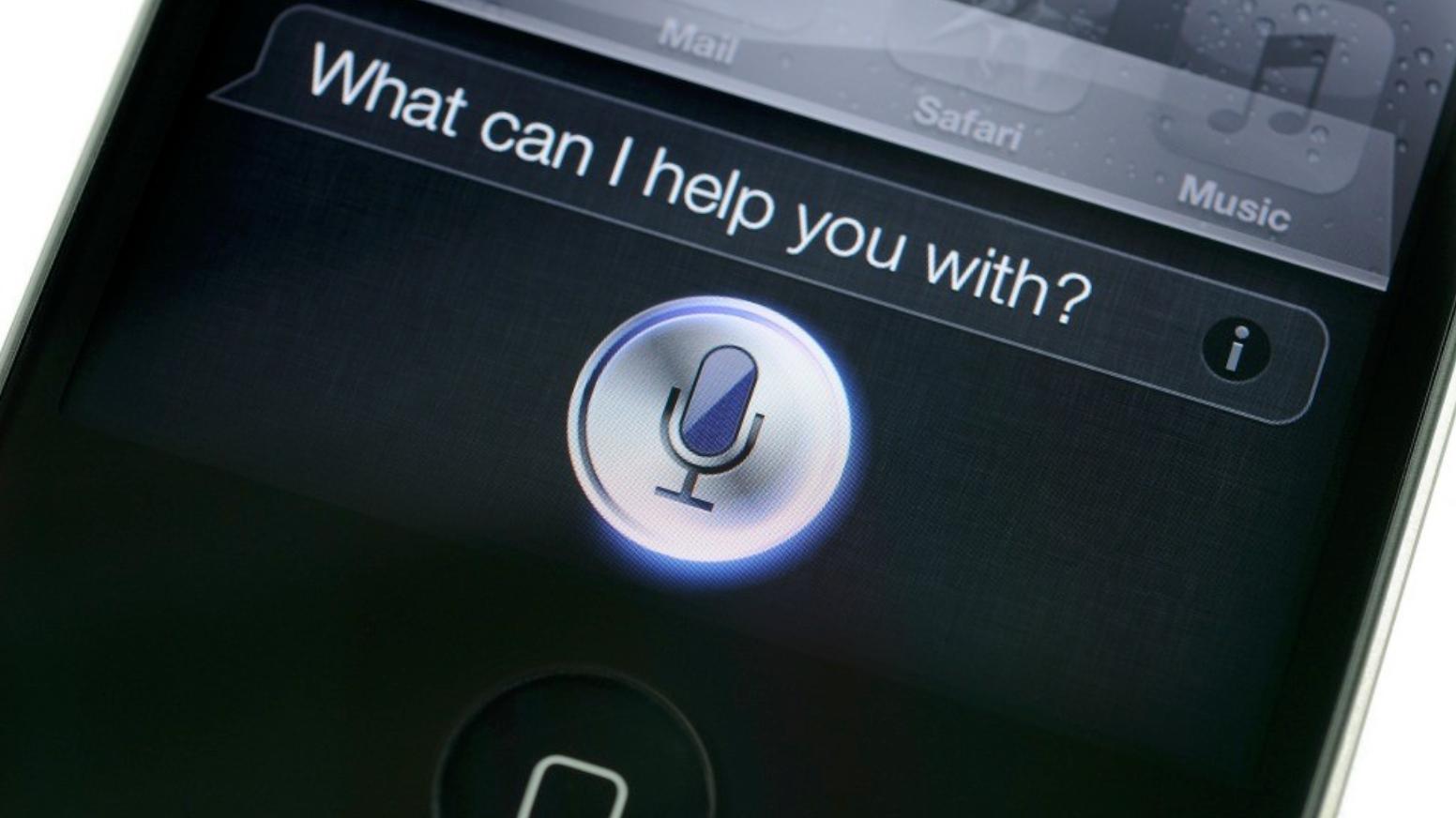 первая версия siri для iphone