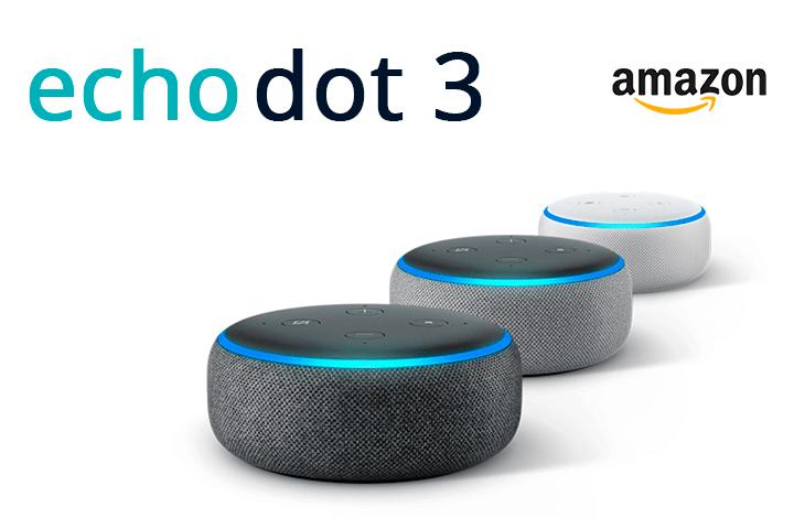 Amazon Echo Dot 3 - одна из лучших