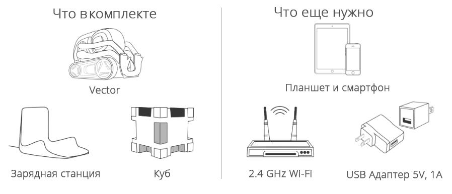Вектор комплект