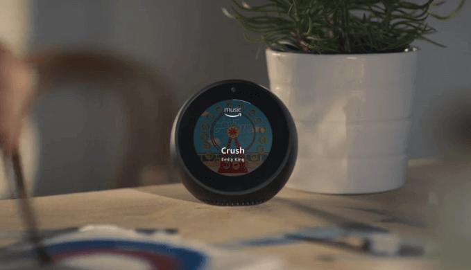Echo Spot от Amazon